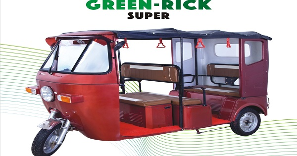 Electric rickshaw runs 80 to 100 km at the cost of 38 to 40