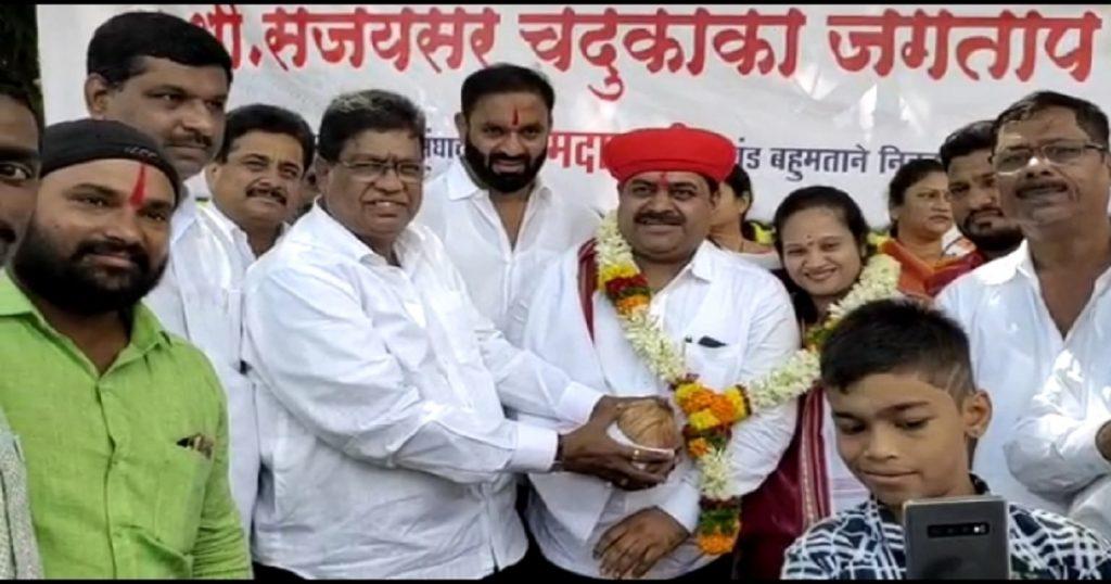 Zopadpatti Suraksha Dal satkar aamdar Sanjay Jagtap