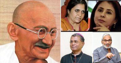 mahatma-gandhi-punyatithi-sabha-teesta-setalwad-bishop-dabare-urmila-matondkar-dr-kumar-to-be-present
