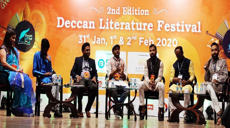 A fluent presentation of multilingual poetry at the Deccan Literature Festival