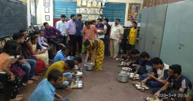Great response to the puran poli donation program
