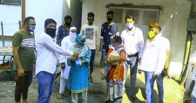 Jilai Jamiat Ahle Hadith Institute distributes food to needy pepole